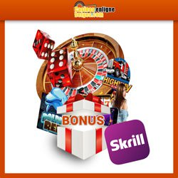 Bonus de casino avec Skrill